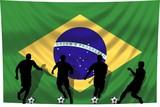 Soccer- Fussball WM Team Brasilien poster
