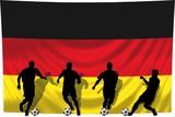 Soccer- Fussball WM Team Deutschland poster