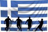 Soccer- Fussball WM Team Griechenland poster