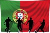 Soccer- Fussball WM Team Portugal poster
