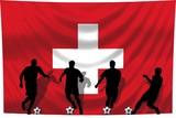 Soccer- Fussball WM Team Schweiz poster