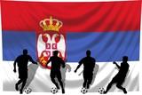 Soccer- Fussball WM Team Serbien poster