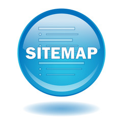 """SITEMAP"" round web button (vector - website - webpage)"