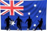Soccer- Fussball WM Team Australien poster