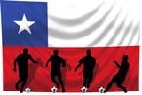 Soccer- Fussball WM Team Chile poster
