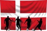 Soccer- Fussball WM Team Dänemark poster
