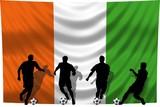 Soccer- Fussball WM Team Elfenbeinküste poster