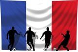 Soccer- Fussball WM Team Frankreich poster