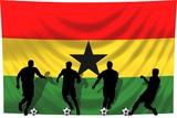 Soccer- Fussball WM Team Ghana poster
