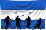 Soccer- Fussball WM Team Honduras poster