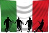Soccer- Fussball WM Team Italien poster