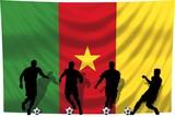 Soccer- Fussball WM Team Kamerun poster