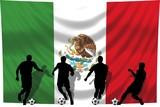 Soccer- Fussball WM Team Mexiko poster