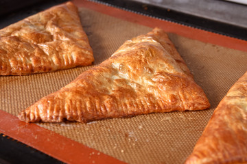 Pies with filling