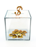 square moneybox poster