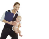 Mutter und Job poster