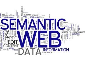 Semantic web (Conceptual Abstract Wallpaper)