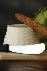 Ricotta (soft white unsalted cheese)