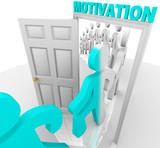 Stepping Through the Motivation Doorway poster
