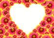 serce w kwiatach