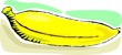 Illustration  of eating food of banana