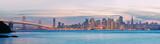 High resolution panorama of San Francisco Skyline and Bay Bridge - 19543034