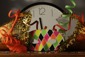 Scatta l ora del carnevale