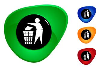button T trash