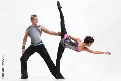 Plexiglas dancing