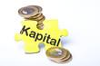 Münzstapel Kapital