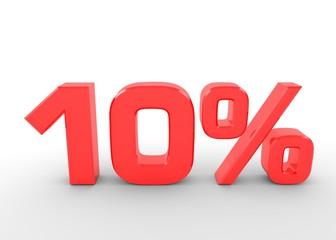 Zehn Prozent
