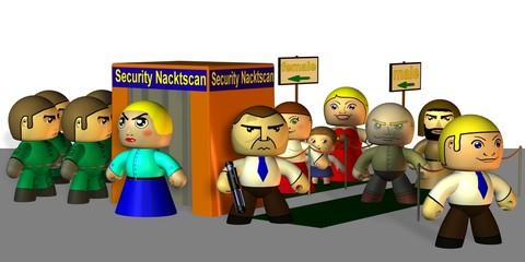 die neue Sicherheitskontrolle