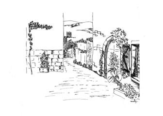 ruelle de village