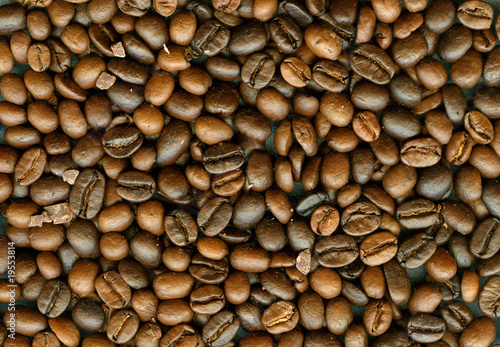 Coffe beans background XXL