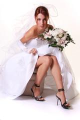 sexy young bride