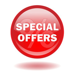 """SPECIAL OFFERS"" web button (sale sales discount prices lower)"