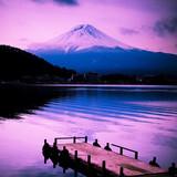 Fototapete Berg - Japanese - Hochgebirge