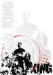 motorcycle circle poster background