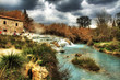 Saturnia (Italy) - Hot geothermal springs