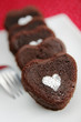 heart chocolate cakes