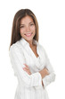 Confident young smiling businesswoman