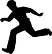 Illustration of boy running to the exercise