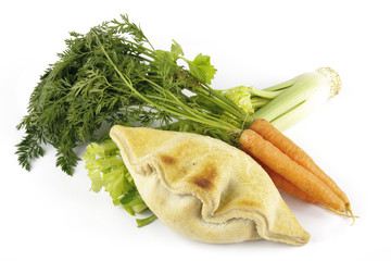 Pasty with Celery and Carrots