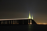 Sunshine Skyway Bridge over the Tampa Bay, Florida poster