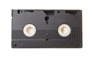 cassette isolated on white background