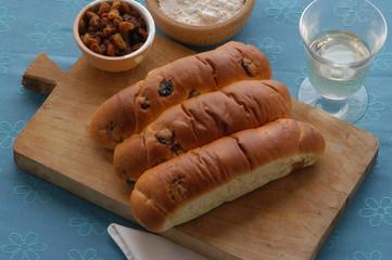 Pane all uva - Pan co l ua - Ricette del Veneto