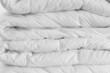 White comforter. - 19576264