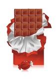 slab chocolate poster