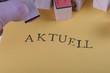kleine Stempel mit Hand AKTUELL
