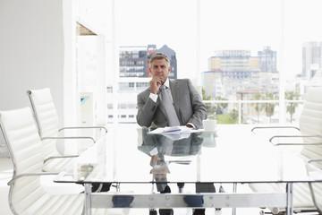 Mature executive